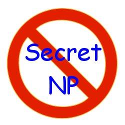 Secret NP no more